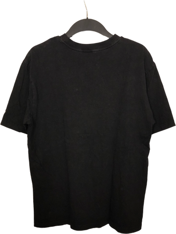 Black Cotton Common Gender T-shirt