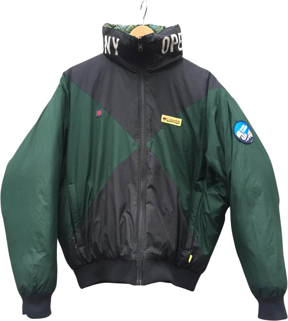 Black-Hunter Green Down Opening Ceremony x Columbia Heavy Bomber Convertible Boxy