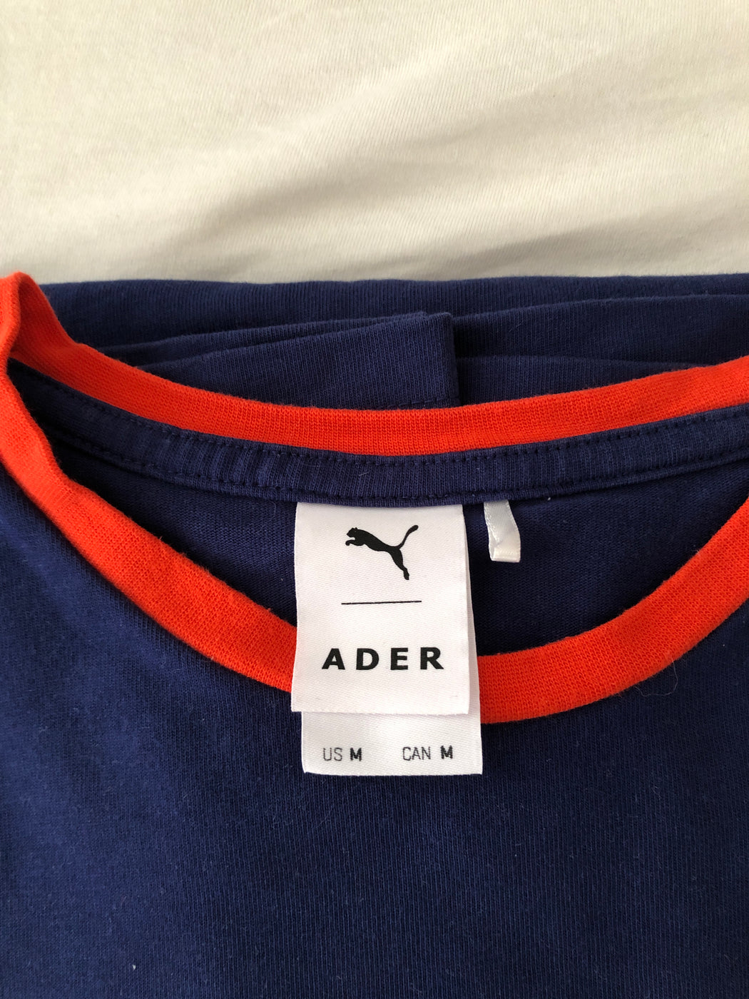 Midnight Blue Cotton Puma x ADER Error T-shirt Oversized