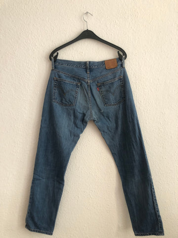Dark Blue Denim Levi's Jeans