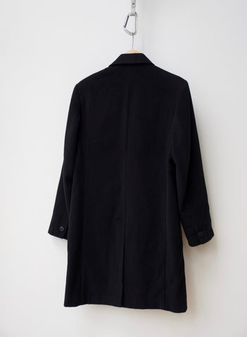 Black Wool Mix Our Legacy Coat  Size M