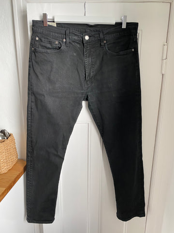 Black Cotton Levi's Jeans