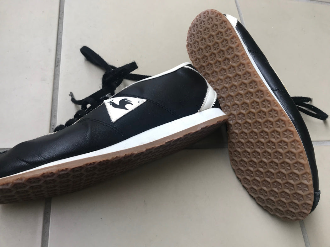 Midnight Blue-White Leather Le Coq Sportif Sneakers