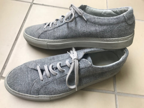 Grey Flannel Common Projects Sneakers  Size 43