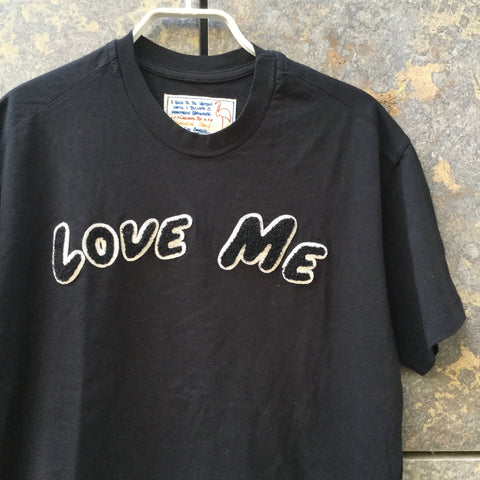Black Cotton Independent T-Shirt  Size Xs/S