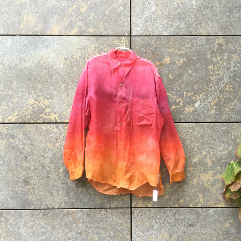 Colorful Organza Vintage Layering Top  Size M/L