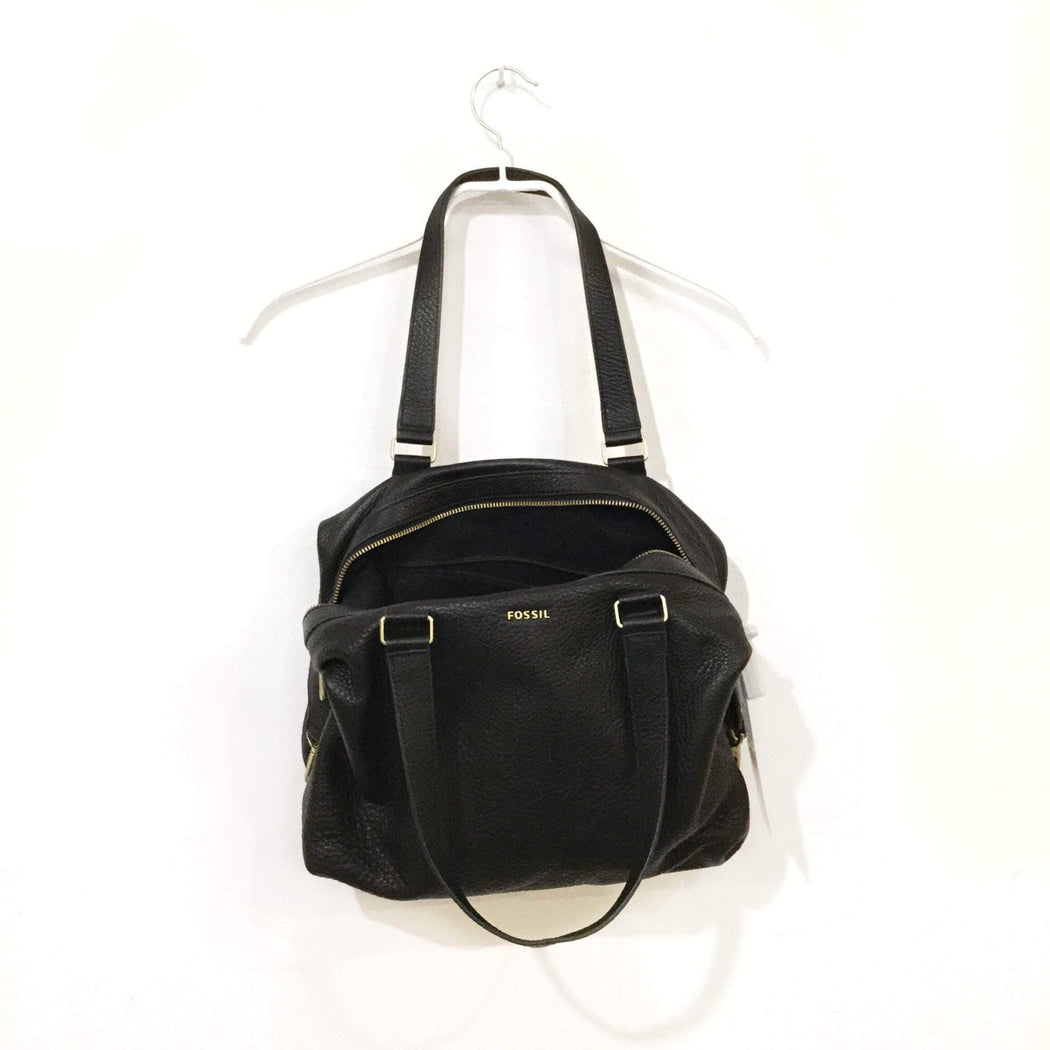 Contemporary Bucket Bag Black Leather Contemporary Bucket Bag  Size Os