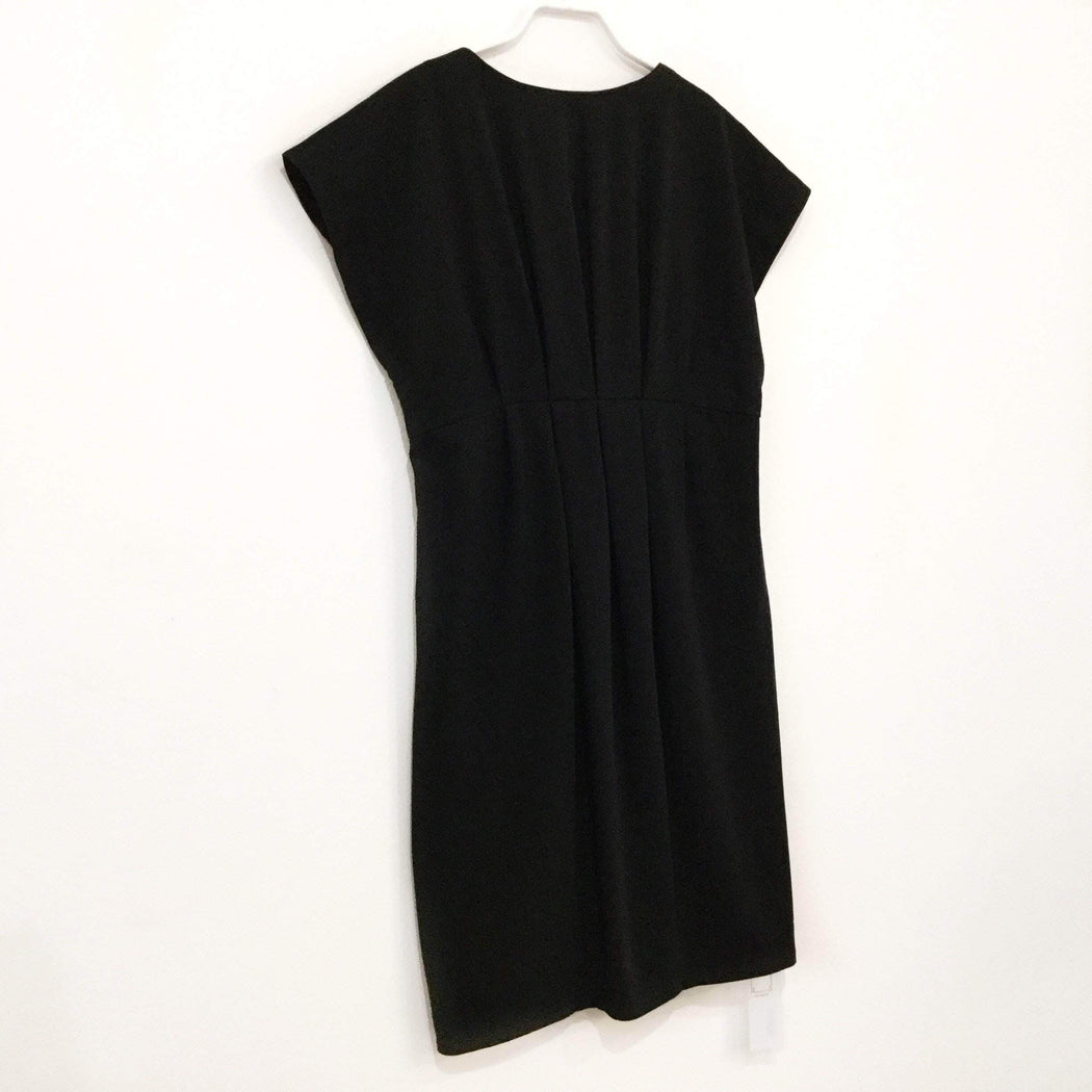 Contemporary Main Dress Black Cotton Mix Contemporary Main Dress  Size M/L