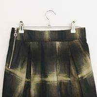 Contemporary Main Skirt Black-Beige Synthetic Contemporary Main Skirt    Size S/M