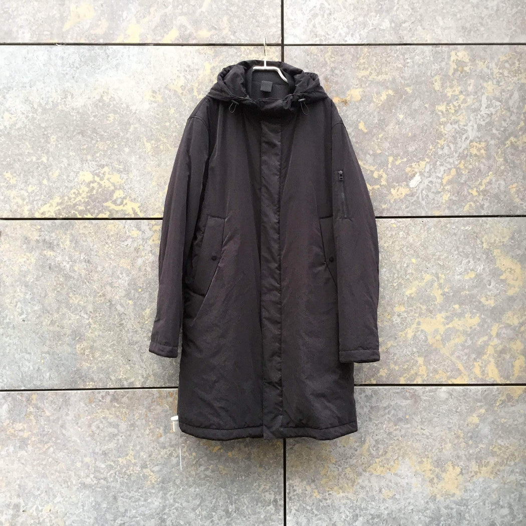 COS Parka Black Polyester Mix COS Parka Extended Size L