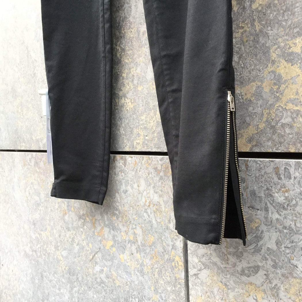 COS Trousers Black Cotton Mix COS Trousers  Size 32