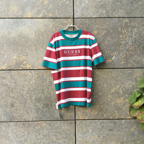 Colorful Cotton Guess Jeans T-Shirt  Size M