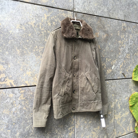 Army Cotton A.p.c. ( Womens ) Jacket  Size XS/S