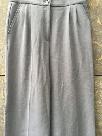 Concrete Wool Mix Mauro Grifoni Trousers Wide Leg Size 29/30