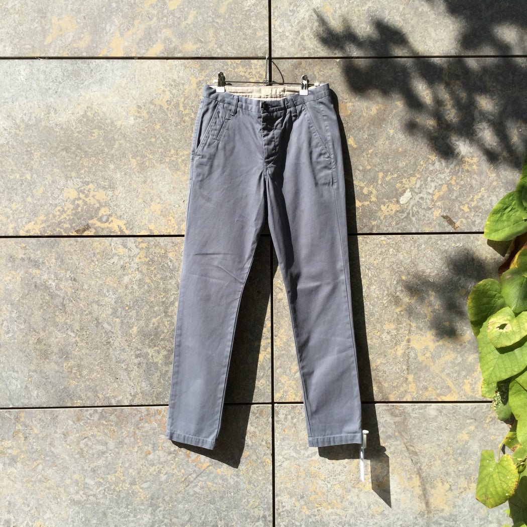 Cloudy Sea Cotton All Saints Trousers  Size 30