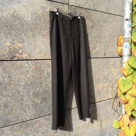 Dark Grey Wool Jil Sander Trousers  Size 29/30