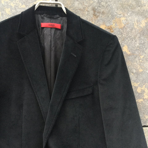 Black Velvet Hugo Boss Red Label Blazer  Size L/XL