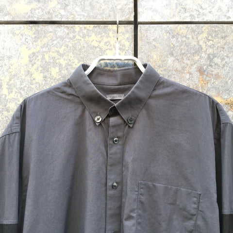 Black Cotton Independent Shirt   Size S