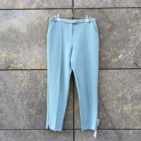 Cloudy Sea Polyester Mix Topshop Trousers Stitching Detail Size 29/30
