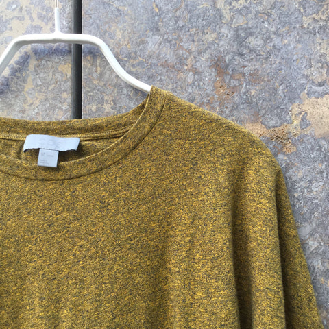 Mustard Cotton COS T-Shirt  Size S