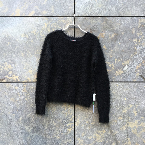 Black Acrylic Mix Vintage Light Sweater  Size XS/S