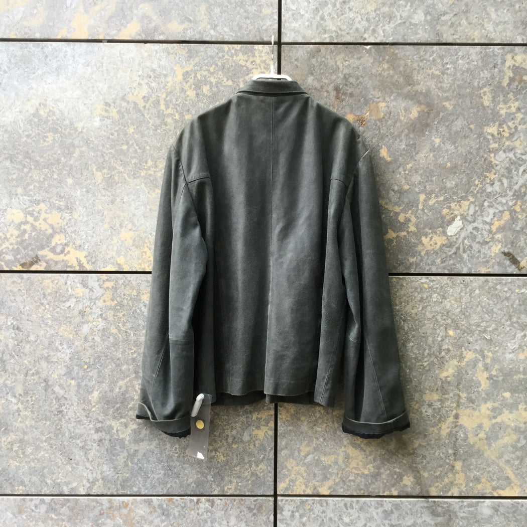 Slate Leather Contemporary Main Jacket Zippered Size L/XL