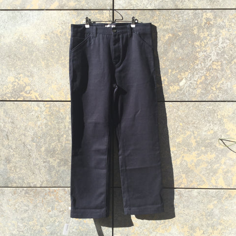 Navy Cotton Acne Studios ( mens ) Trousers  Size 36