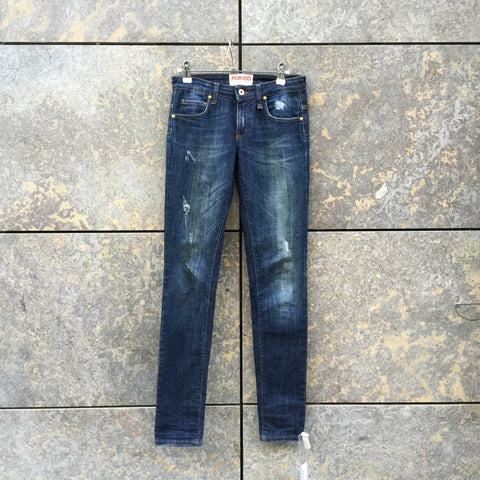 Denim Blue Denim Contemporary Jeans  Size 25/26