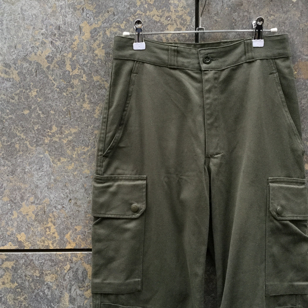 Army Cotton Vintage Cargos Cinched Leg Size 25/26