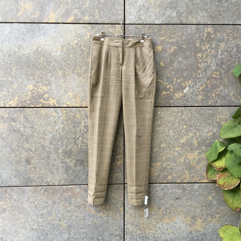 Brown Tone Mix Wool Acne Studios ( womens ) Trousers  Size 26/27