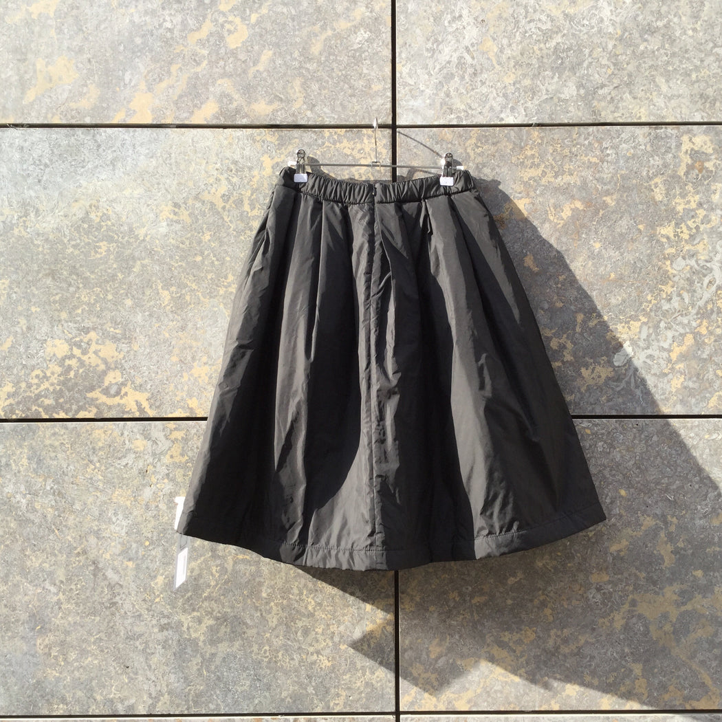 Black Polyester Mix Acne Studios ( womens )  Midi Skirt Conceptual Detail Size 26/27