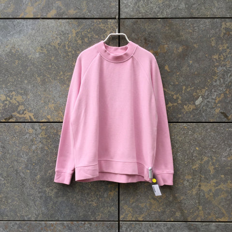 Pastel Pink Cotton Mix Samsoe And Samsoe Light Sweater Turtle Neck Size L/XL