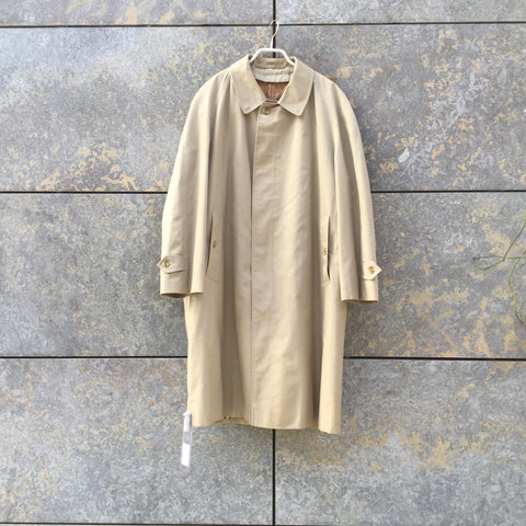 Beige Cotton Mix Burberry Mac  Size M