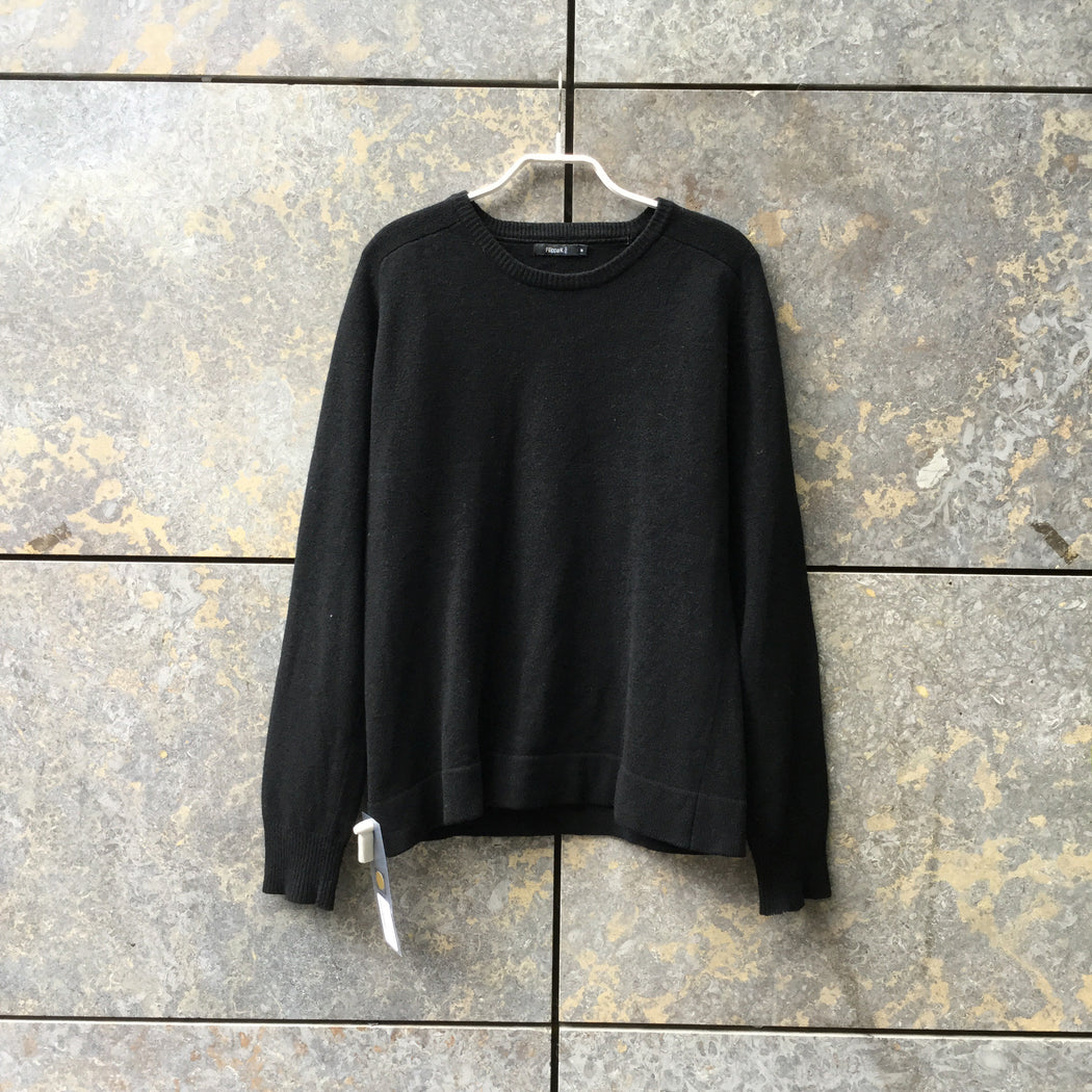 Black Wool / Acrylic Mix Filippa K Sweater  Size M/L
