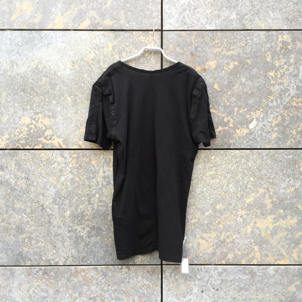 Black Cotton Damir Doma Silent T-Shirt  Size M