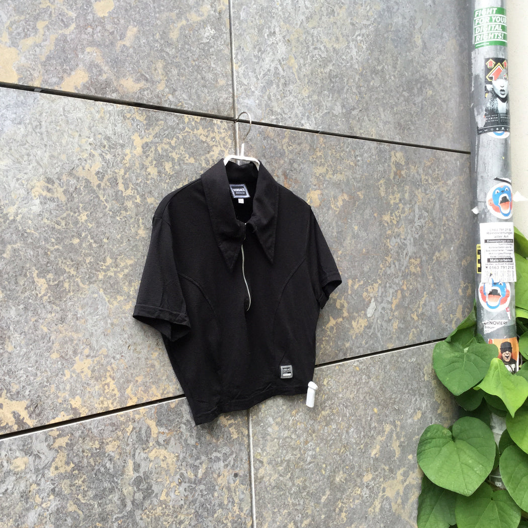 Black Polyamide Versace Jeans Couture Top SS  Size Xs/S