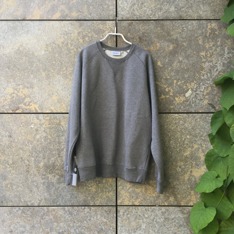 Slate Cotton / Poly Mix Carhartt Wip Sweatshirt Oversized Size L/XL