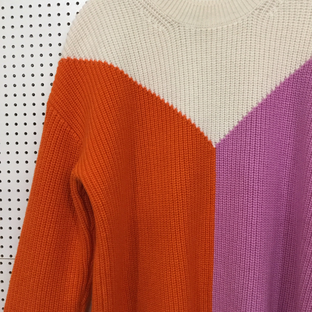 White-Lavender Wool / Polyamide Other Stories Sweater  Size S/M