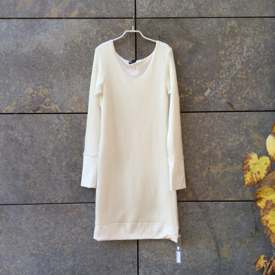 Straw Wool Mix Independent Sweater Dress  Size M/L