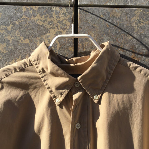 Beige Cotton Ralph Lauren Shirt  Size Xl