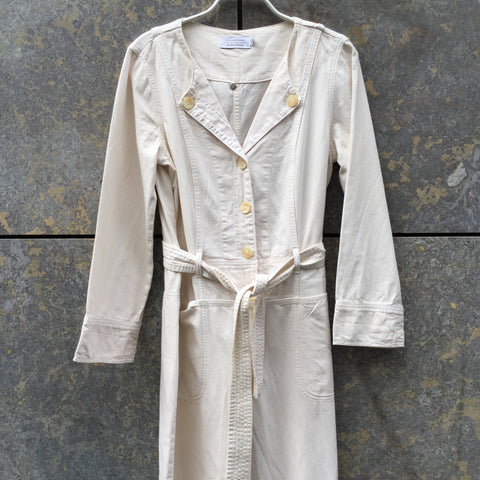 Straw Cotton Other Stories Romper Special Button Size M/L