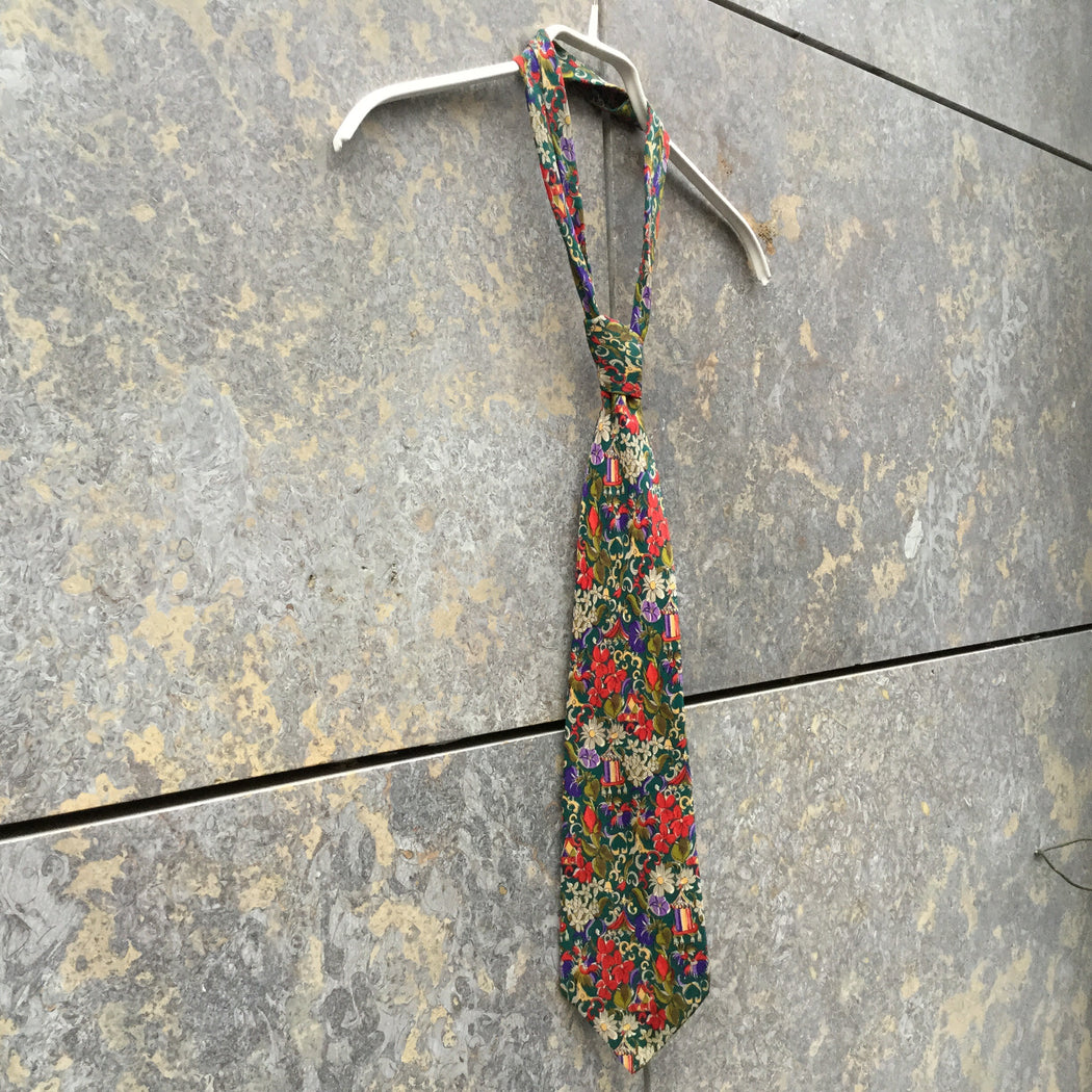 Colorful Silk Givenchy Tie  Size Adjustable
