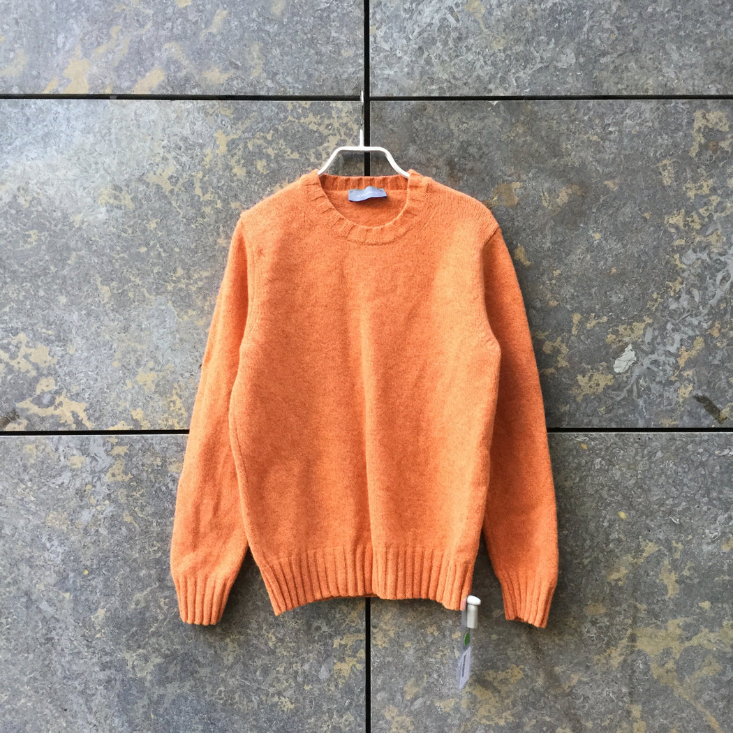Orange Creamsicle Wool Mix Independent Sweater  Size L/XL