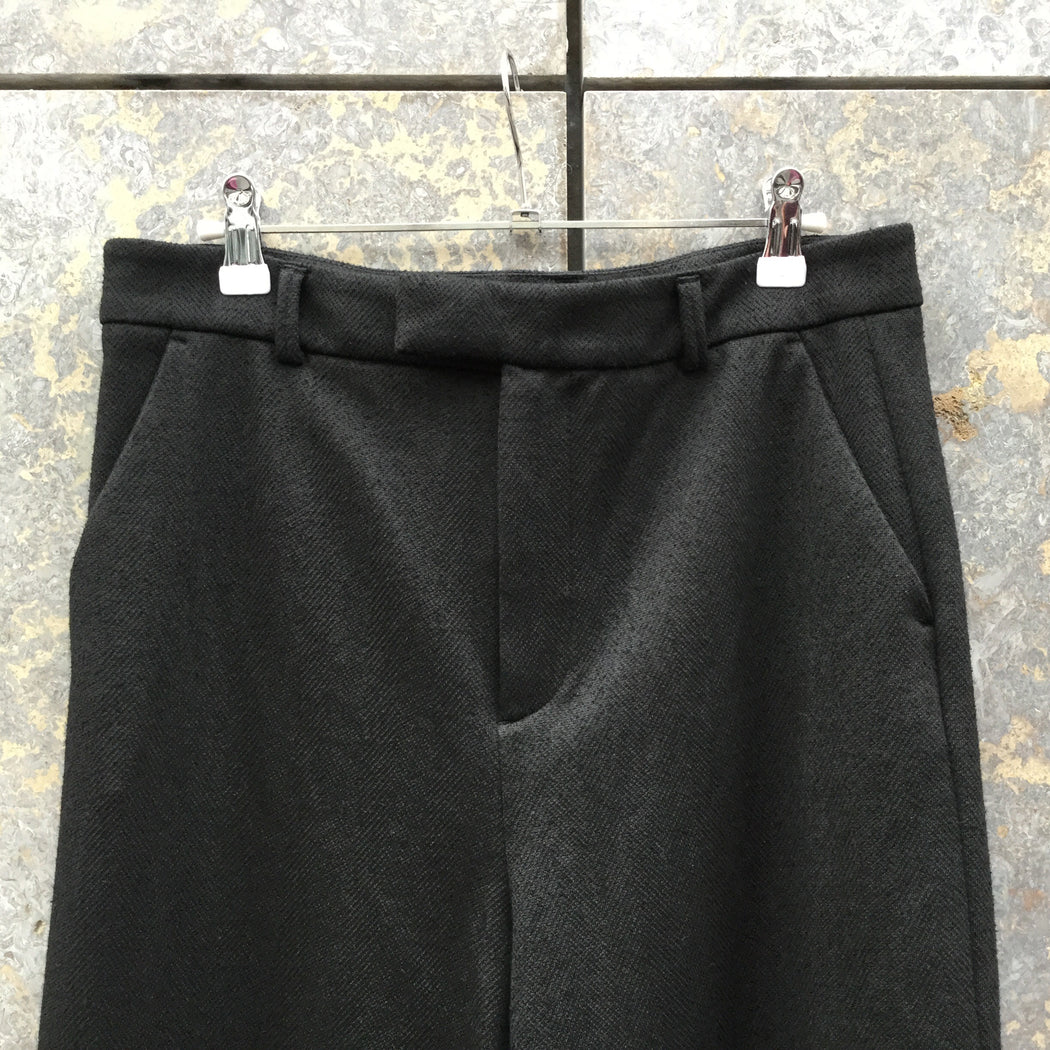 Black Cotton / Poly Mix Ganni Culottes  Size 30/31