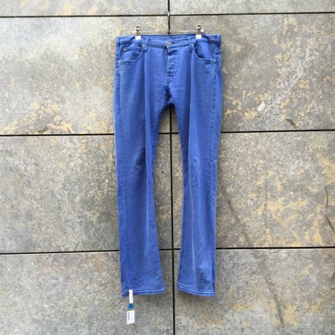 Heather Blue Denim Lee Jeans  Size 34