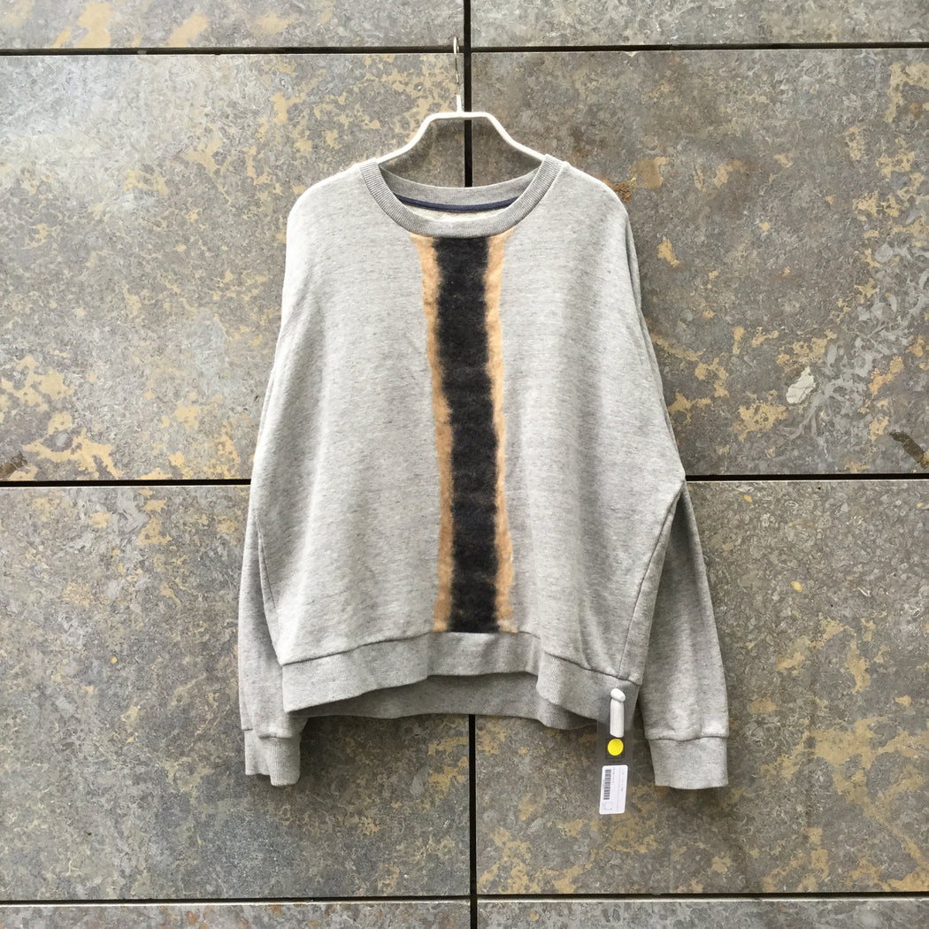Concrete-Dark Color Mix Wool Mix Samsoe And Samsoe Sweatshirt Conceptual Detail Size S/M