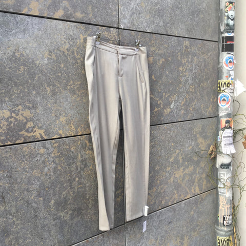 Light Gray Wool Mix MM6 Maison Margiela 3/4 Pants  Size 26/27