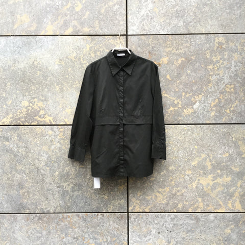 Black Cotton Mix Independent Shirt  Size M/L