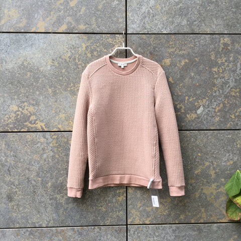 Faded Rose Polyester Mix Reiss Sweatshirt  Size Xs