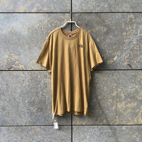 Khaki Cotton The North Face T-shirt  Size M/L
